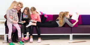 Lasten kokemuksia Lukumummi ja -vaari -toiminnasta